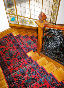 tapis pour escalier le sp cialiste des tapis et passages. Black Bedroom Furniture Sets. Home Design Ideas